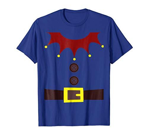 Dwarf, Gnome, Elf, Santa Helper Costume T-Shirt - Funny ()