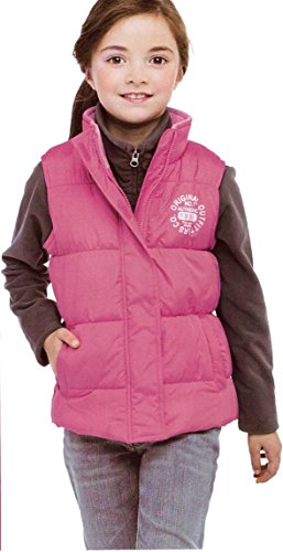 Avenue Kids Small Girls' Pink Vest Gilet (5-6) Avenue Girl