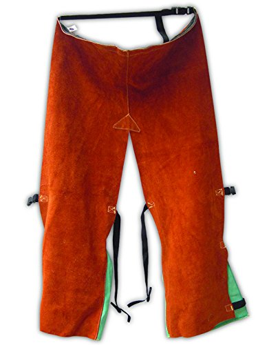 Magid Glove Safety 1041T42KVE Split Leather Chaps with En...