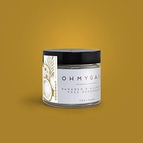 OHMYGAIA Paraben & Aluminum Free Deodorant (COCONUT)