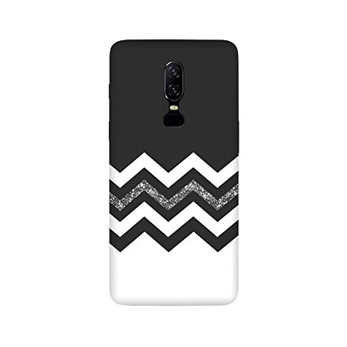 pretty nice e55e9 d0bfe JUNU Oneplus 6 Back Cover, Designer Stylish Printed Hard Case Cover for  Oneplus 6/One Plus 6/1+6 [Slimfit] Pattern (Design No. 6183)