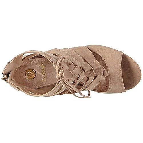 La Strada Natural Suede Leather Look Sandal, Sandales ouvertes femme hot sale 2017