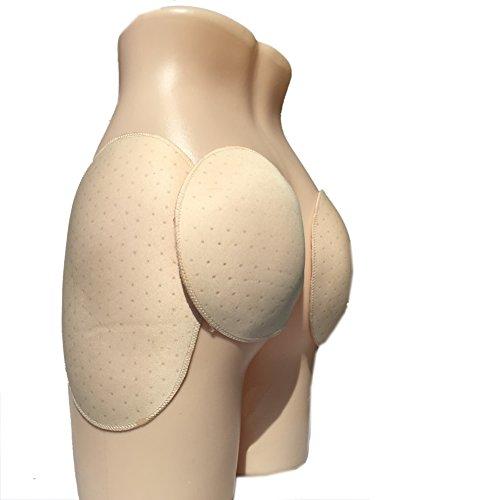 BIMEI 4PS Self-Adhesive Reusable Padded Hip Sponge Hip Pad