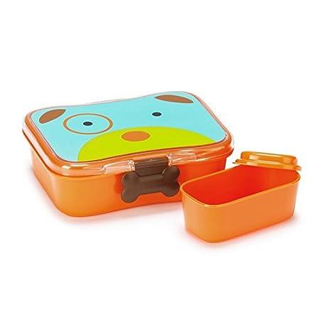Skip Hop Zoo Lunch-/Frühstücksdose, mit Deckel, Aufbewahrung, für Kinder, mehrfarbig, Biene Brooklyn für Kinder 252479