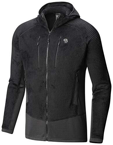 Mountain Hardwear Men's Monkey Man¿ Grid II Hooded Jacket Black 3 Medium