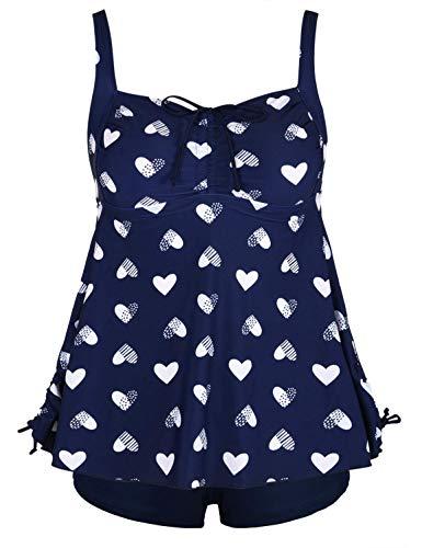 Navy blue & heart