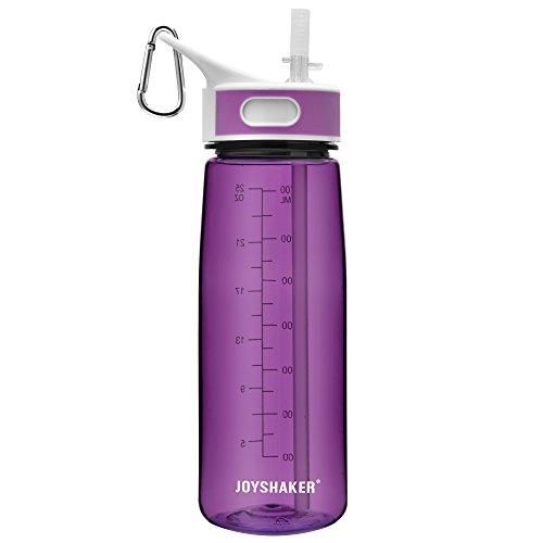 JOYSHAKER Sports Water Bottles With Straw BPA Free Tritan Water Bottles Non-toxic 28OZ