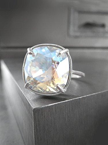 Antiqued Diamond Band - 4