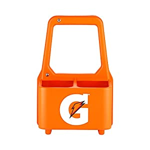 Gatorade Squeeze Bottle Caddy, Holds Four 20 oz Squeeze Bottles