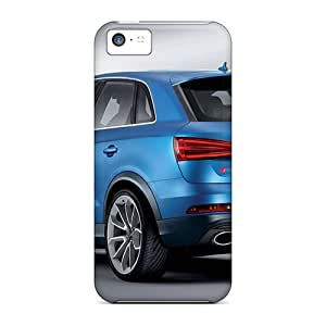 Top Quality Cases Covers For Iphone 5c Cases With Nice Blue Studio Audi Suv Appearance