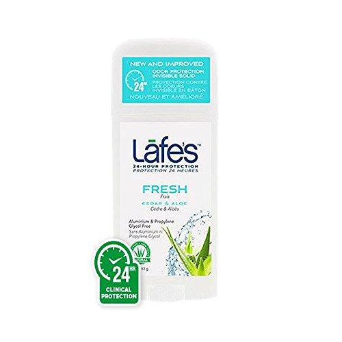 Lafe's Natural and Organic Deodorant Twist Stick Fresh Lafe's Natural Bodycare 2.25 oz Spray