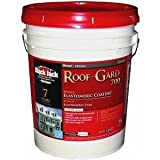 GARDNER-GIBSON 1/30/5527 4.75 Gallon White Elastomeric Roof Coating