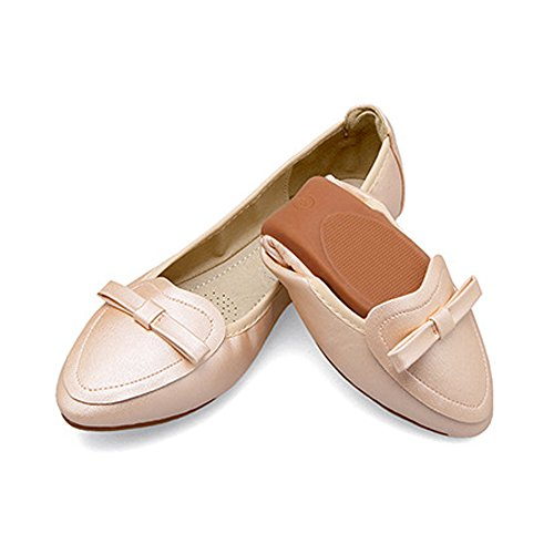 Noeud OCHENTA Confortable Ballerines Printemps Plats Femme Et Marche Chaussures qHHvpwt