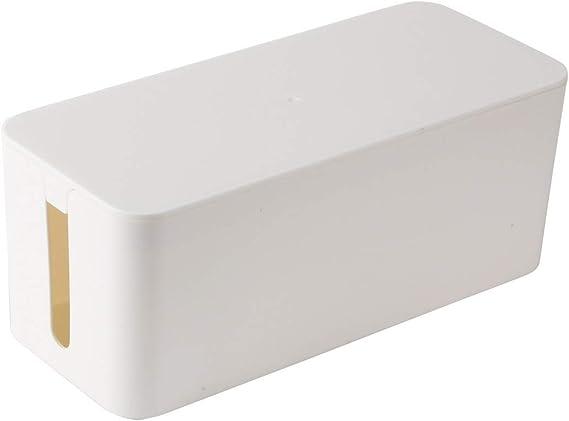 UNIQUEBELLA - Caja rectangular para guardar y ordenar cables y ...