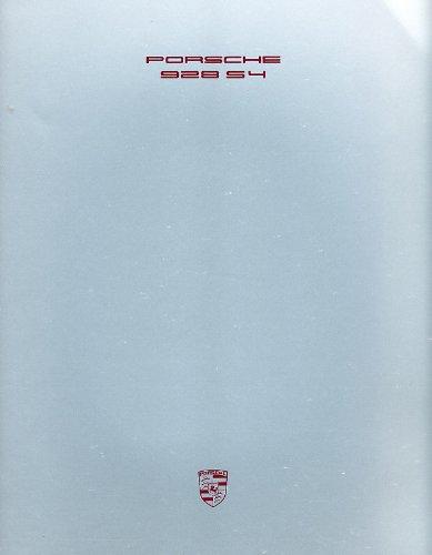 928s4 Porsche - 1989 Porsche 928 928S4 S4 Deluxe Sales Brochure