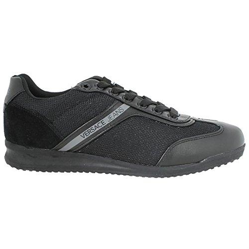 Wing Cap Zapatillas Versace Negro Hombre Jeans EU5q0w0gn