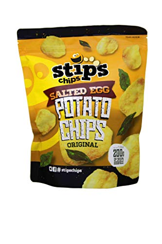 Stip's Chips Salted Egg Potato Chips Original 200g