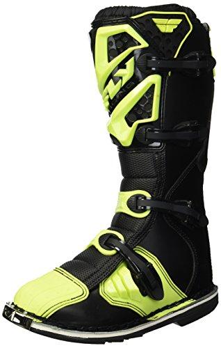 (Fly Racing Unisex-Adult Maverick Mix Boots (Hi-Vis, Size 9))