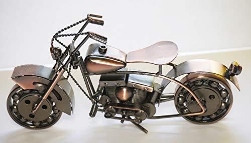 col-p Professional Handmade Old Fashion Motorcycle Chopper Bike Harley Figure 10