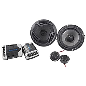 "Pair Rockville RV65.2C 6.5"" Component Car Speakers 750 Watts/140w RMS CEA Rated"