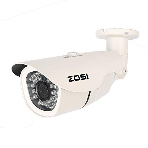 ZOSI 1.3 Megapixel (1280x 960P) Wettterfest IP66 ONVIF IP Kamera Tag/Nacht Überwachungskamera HD Nachtsicht bis 100ft, 36IR LEDs, Handy-View