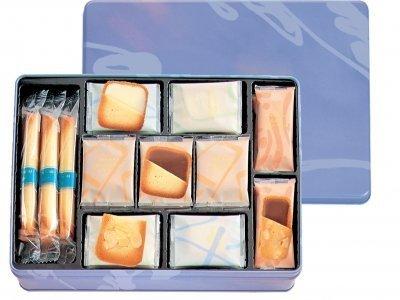 CINQ DELICES / Yoku Moku Japanese Butter Cookie Assortment Gift Box (Midium)