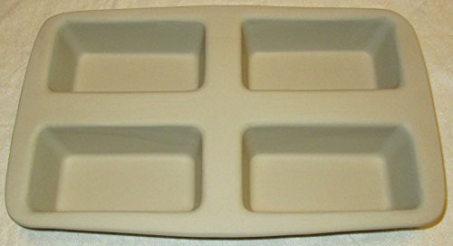 Pampered Chef Stoneware Mini Loaf Pan Stoneware Mini