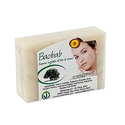 Jabón de Baobab - Jabonería Artesanal - jabones elaborados en frío - No contienen colorantes,