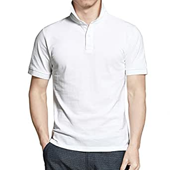 Hombre 100% Algodón Clásico Slim Transpirable Camisetas Frescas ...