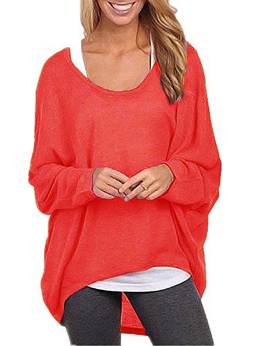 ZANZEA Womens Batwing Pullover T Shirt product image