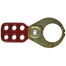 Klein Tools 45201 1-1/2-Inch Hasp Tempered Steel Lockouts with Interlocking Tabs