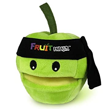 Fruit Ninja 5 Green Apple Plush with Sound and Bandana by ...