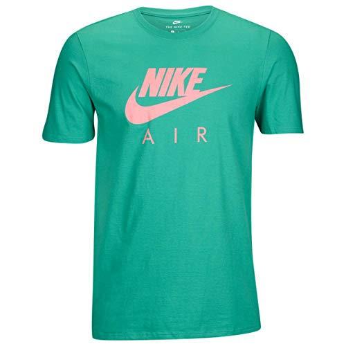 Nike Sportswear Men's Logo T-Shirt (Medium, Watermelon/Bright - T-shirt Nike Logo