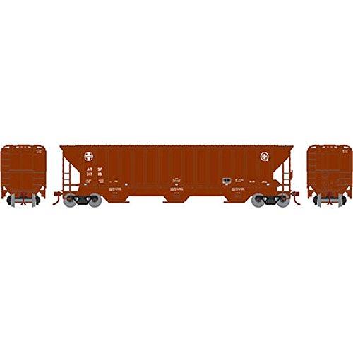HO RTR PS 4740 Covered Hopper SF #317115 Athearn Ho Model Trains