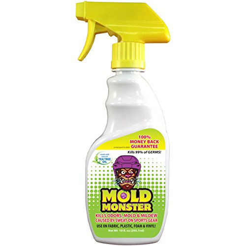 Environmentally Friendly Fabric (Mold Monster - Eliminates Odor, Mold & Mildew on Fabric, Plastic, Foam and Vinyl - Non Toxic, Environmentally Friendly - 10z Trigger Spray Bottle (Sports))