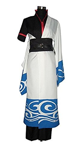 MANEMEKA.JP Japanes Anime Gintama Style Costume [ M/L/XL sizu 5item ] Cosplay