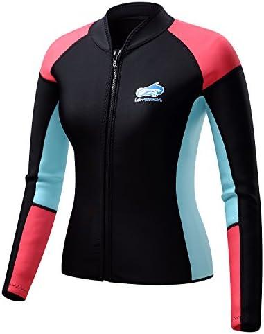 Lemorecn Womens Wetsuits Jacket Neoprene product image
