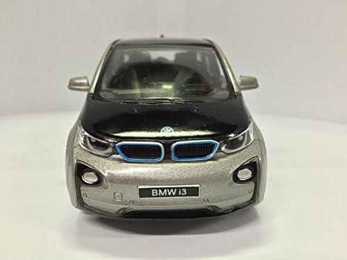1//32 BMW I3 I 3 COLOR GRIS KINSMART ESCALA DIE CAST