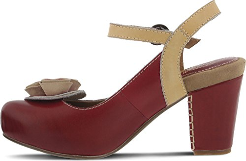Pictures of Spring Step Women's Adorn Red Sandal Red Red 5