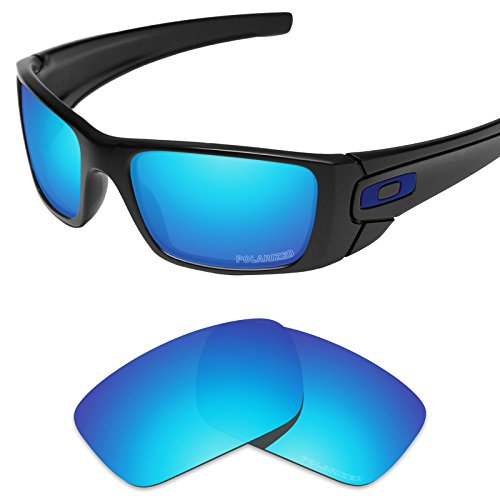 Tintart Performance Lenses Compatible with Oakley Fuel Cell Polarized Etched-Sky Blue
