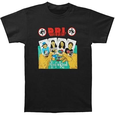 D.R.I. Men's 4 Of A Kind T-shirt Black