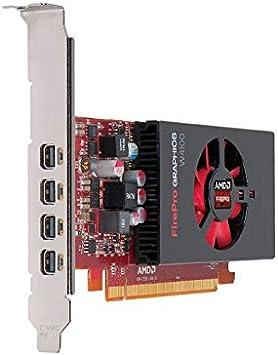 Amazon Com Ati Amd Firepro W4100 2gb Gddr5 4mini Displayports Low Profile Pci Express Video Card 100 505979 Computers Accessories