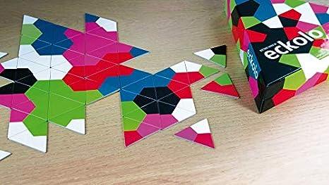 REMEMBER Eckolo - Colorido juego de triple dominó para la familia ...