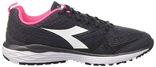 de Nerobianco Femme Flamingo Noir Diadora W Chaussures Running HAxB4g