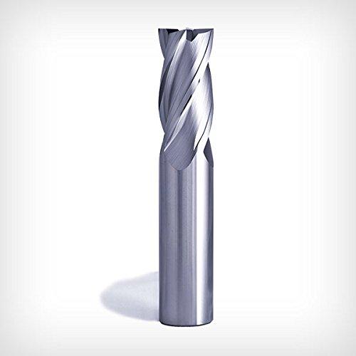 GW Schultz Tool | 1.5 IN CARBIDE END MILL GW4 Series 4 Fl /Ø.75 IN AlTiN COATED SHK .75 IN LOC RADIUS OAL 30/° HLX 4.0 IN .125 IN