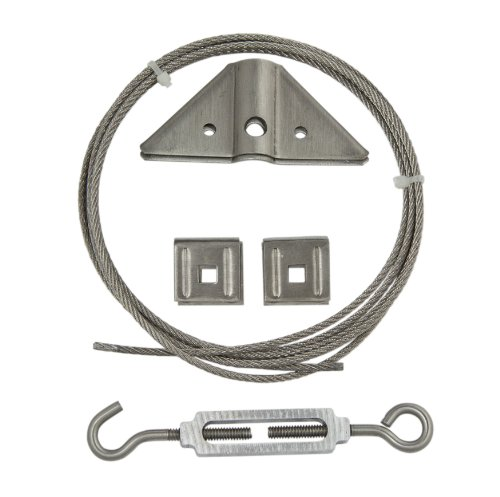 Ultra Hardware 35944 Gate Kit, Stainless Steel