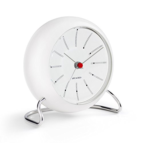 Arne Jacobsen Table Clock Banker in - Clock Bankers