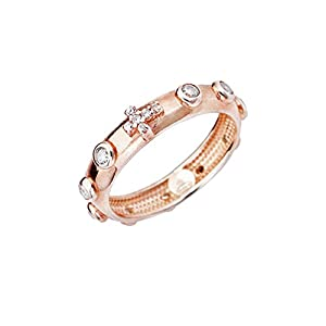 anello donna gioielli Amen Rosario misura 12 casual cod. ARORB-12