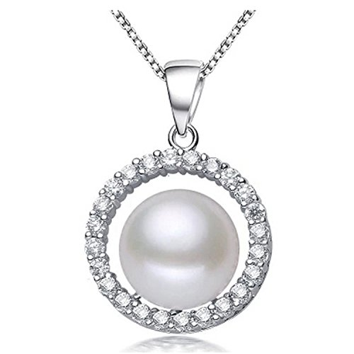 SuperLouisa Fashion Pearl necklace Bohemia White pink purple pearl jewelry charm necklace women pearl pendant - Uk Outlet And Tiffany Co