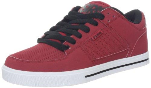 Osiris Men's Protocol Skate Shoe,Red/Black/White,11 M US ()